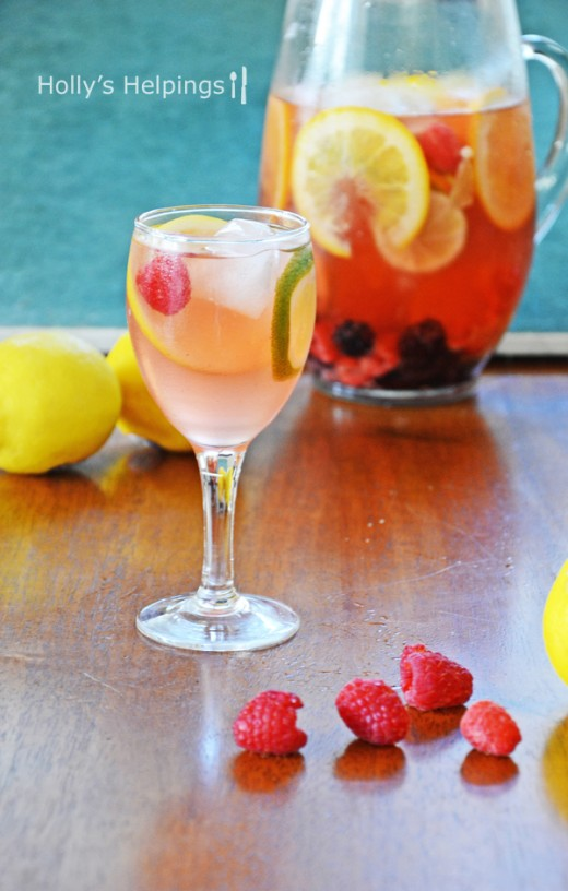 Elderflower Sangria Recipe
