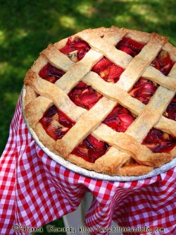 Fresh Strawberry Kiwi Pie Recipe