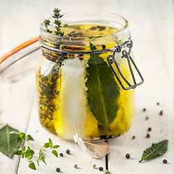 Goat Cheese in Olive Oil Recipe