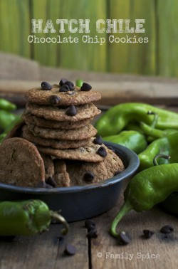 Hatch Chile Chocolate Chip Cookies Recipe
