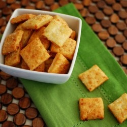 Homemade CheezIts Crackers Recipe