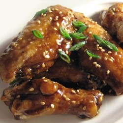 Honey Soy Glazed Chicken Wings
