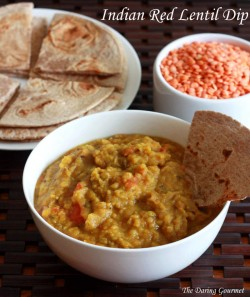 Indian Red Lentil Dip Recipe