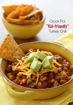Kid Friendly Turkey Chili Recipe