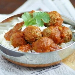 Lamb Meatballs in Spicy Sauce Recipe