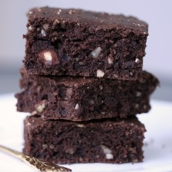 Low Fat Cacao Brownies