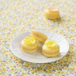 Macarons with Cream Cheese Passion Fruit Filling Recipe