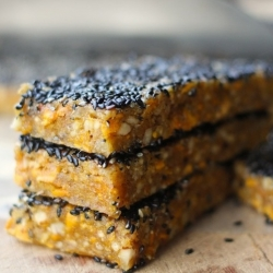 Mango Ginger Sesame Snack Bars Recipe