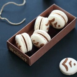 Milk Chocolate Praline Ganache Macarons Recipe