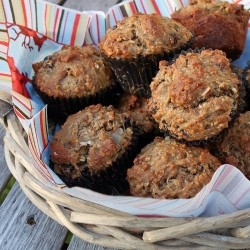 Morning Glory Muffins Recipe from Cooking Light