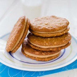 Peanut Butter Filled Sandwich Cookies Recipe