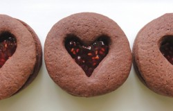 Raspberry Jam Heart Cookies Recipe