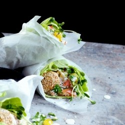 Raw Falafel Wrap Recipe