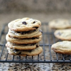 Salted Chocolate Chip Cookies with Cornstarch Recipe