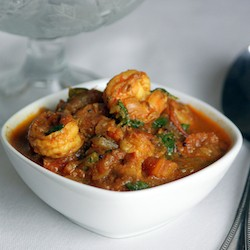 Shrimp Curry with Spices and Coconut