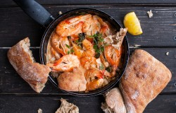 Shrimp in White Wine Sauce Recipe