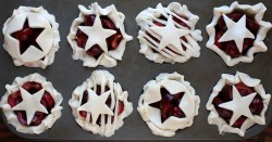 Sweet Cherry Pie Cups