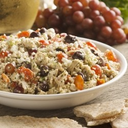 Tabbouleh Salad with Chicken