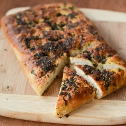 Thai Basil Beer Focaccia Bread Recipe