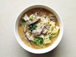 Thai Sukiyaki with Marinated Beef Recipe