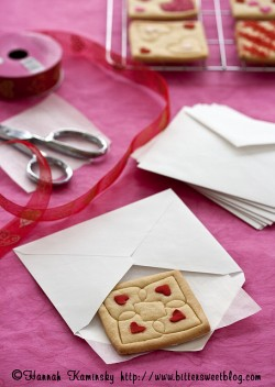 Valentines Cut Out Cookies