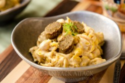Adult Mac and Cheese with Beer Sauce and Bratwurst Recipe