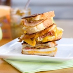 Apple Bacon Cheddar Panini Recipe
