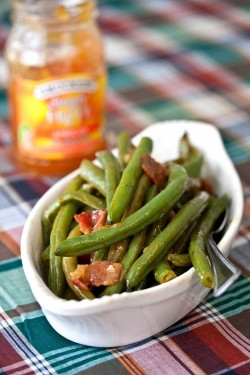 Apricot Glazed Green Beans Recipe