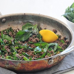 Beef Broccolini Basil Recipe