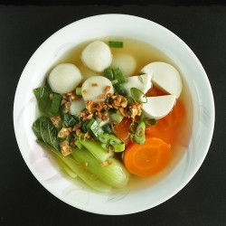 Bok Choy and Fish Ball Soup Recipe