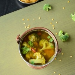 Broccoli Lentil Soup Recipe