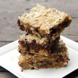 Brown Butter Coconut Chocolate Chip Cookie Bars Recipe