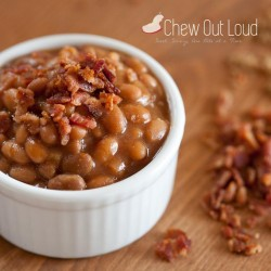 Brown Sugar Baked Beans with Bacon Recipe