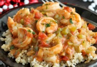 Cajun Shrimp Etouffee for Mardi Gras
