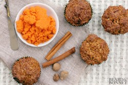 Carrot Coconut Walnut Muffins