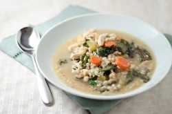 Chicken Barley Swiss Soup