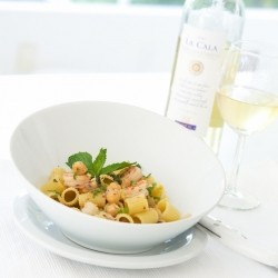 Chickpea and Shrimp Pasta Recipe