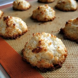 Coconut Macaroons Gluten Dairy Egg Free