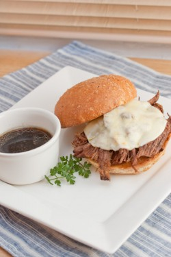 Crockpot French Dips Recipe