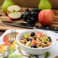 Farro and Fruit Salad Recipe