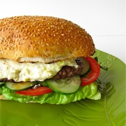 Feta Cheeseburger