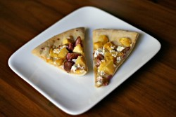 Fig Goat Cheese Acorn Squash Pizza