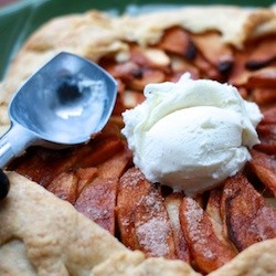 French Apple Galette