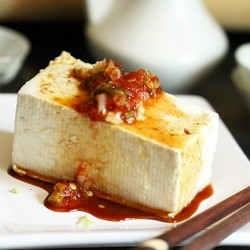 Gingered Cold Tofu Recipe