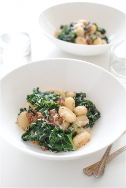 Gnocchi with Italian Sausage and Kale