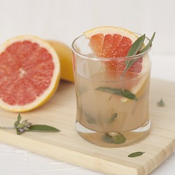 Grapefruit Sage Cocktail Recipe