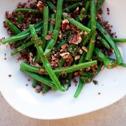 Green Bean and Red Quinoa Salad Recipe