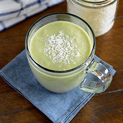 Green Tea Coconut Smoothie