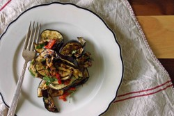 Grilled Eggplant Agrodolce Recipe