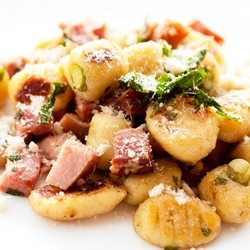 Homemade Gnocchi with Brown Butter